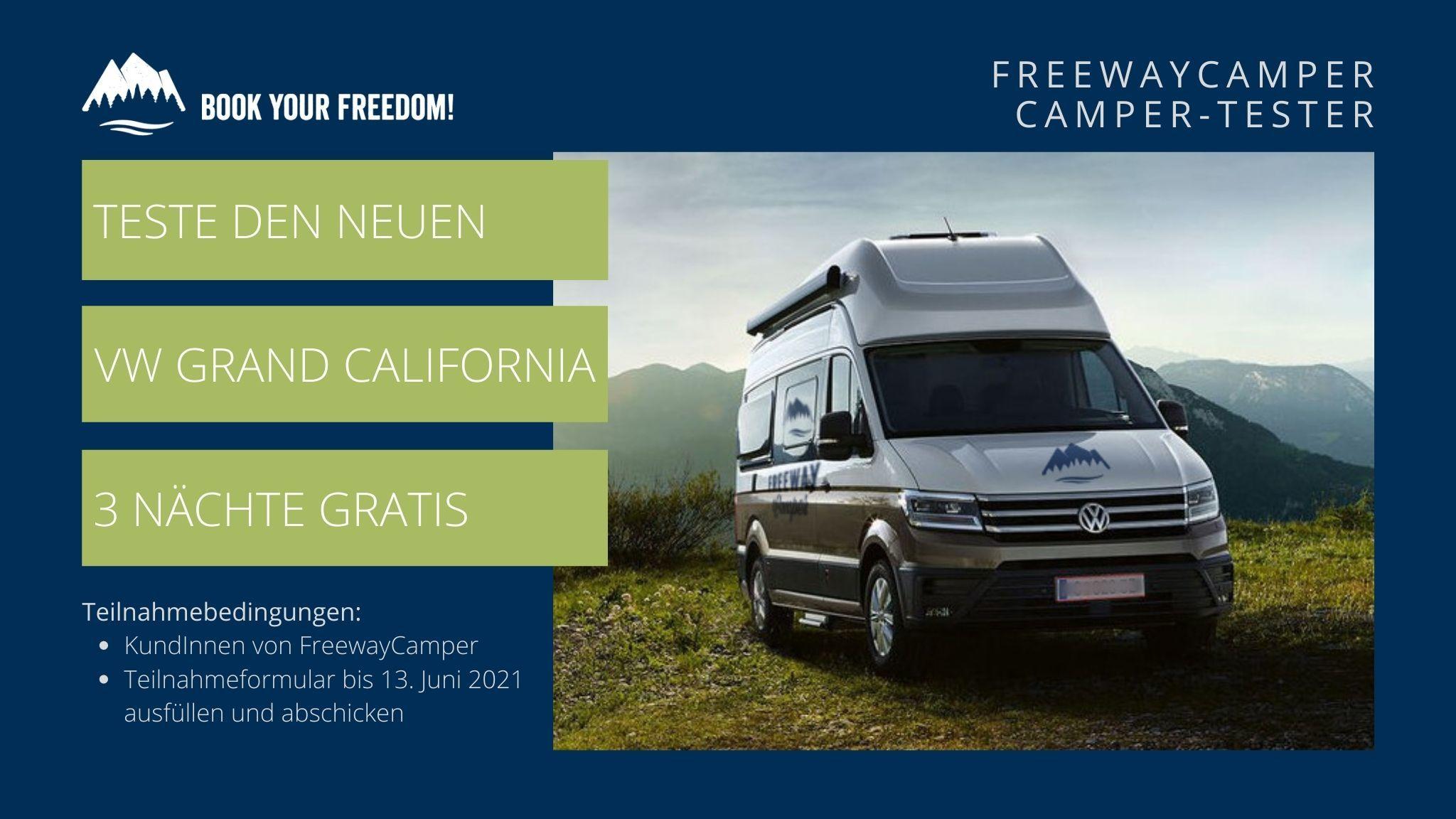 Grand California Camper-Tester