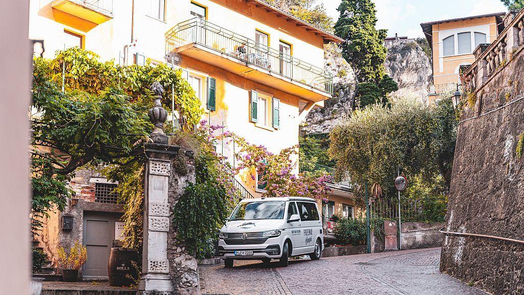 Campen in Italien
