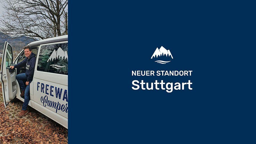 FrewwayCamper neuer Standort Stuttgart