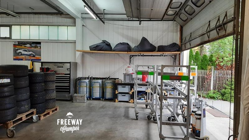 FreewayCamper neue Station innen