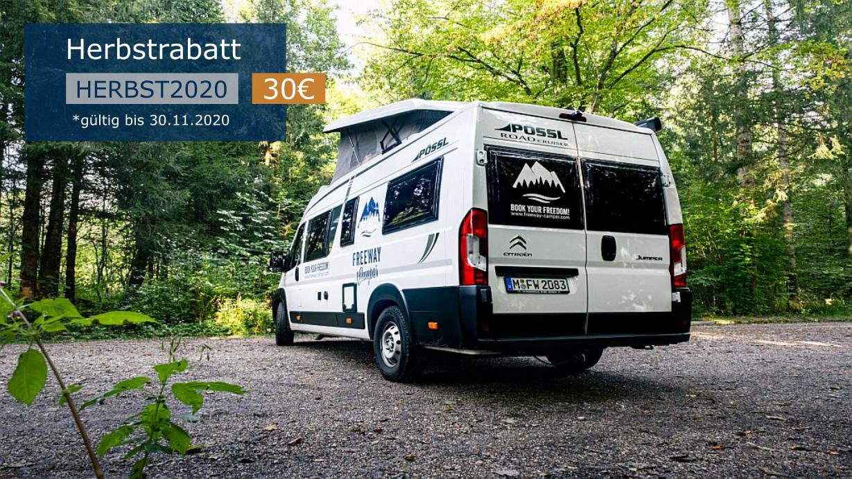 Autumn Camper Discount Pössl Roadcruiser