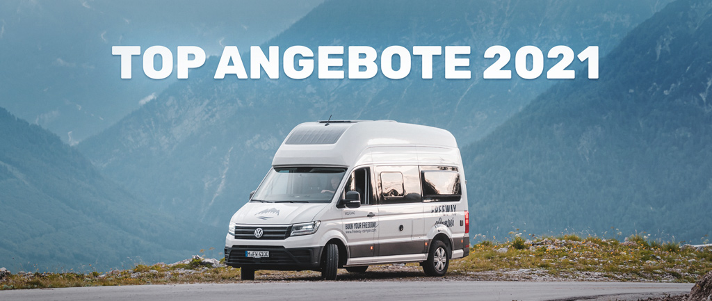 SPECIAL OFFER 2021: VW Grand California from 79€