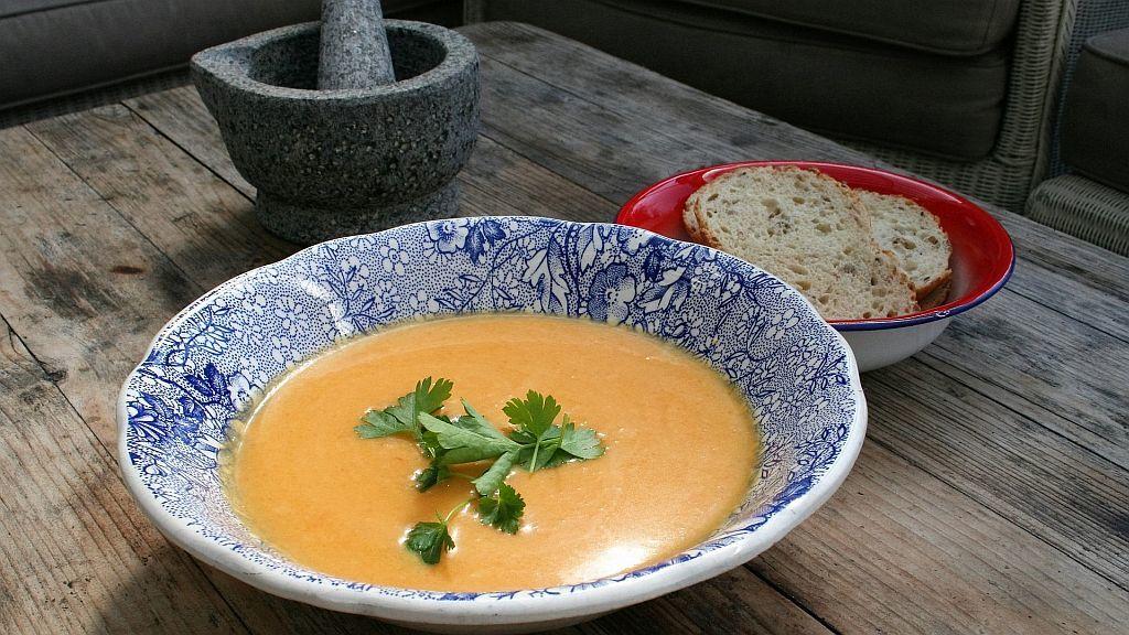 Herbst Rezept: Kürbissuppe